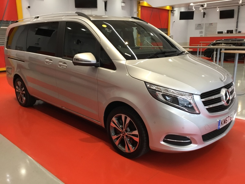Mercedes-Benz V Class SPORT (LONG) _empty_ 1