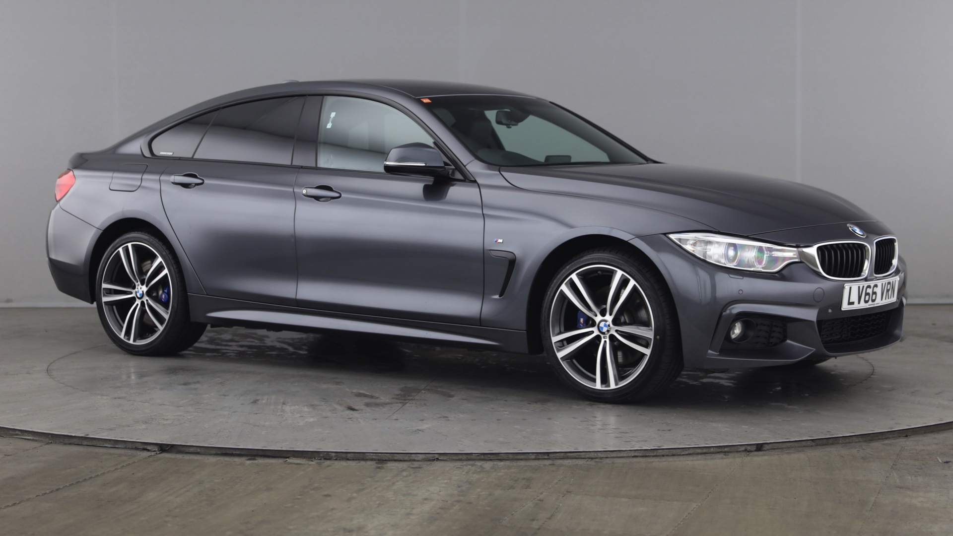 BMW 4 Series 420d [190] xDrive M Sport 5dr Auto [Prof Media] _empty_ 1