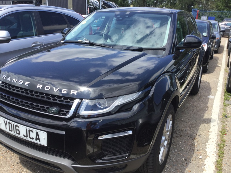Used Range Rover Evoque 2 0 eD4 SE Tech 5dr 2WD Black SUV/4x4 For Sale in  Southampton Reg:YD16 JCA